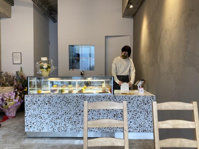 カフェCHEESE CAKE Lemon(チーズケーキレモン)店内