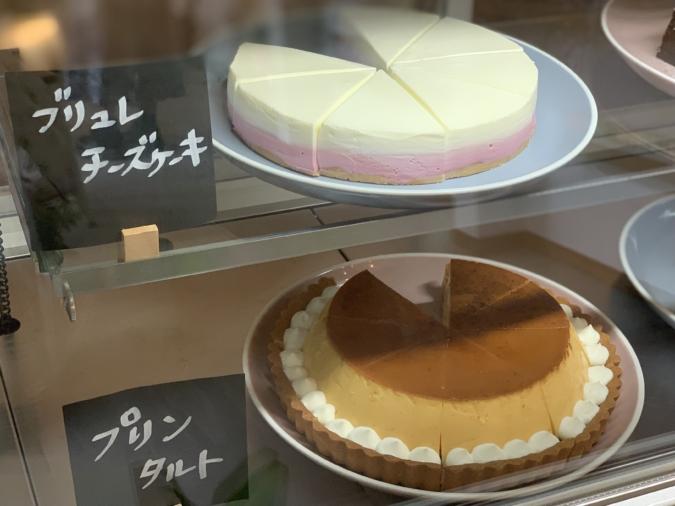 BLUE MOON CAFE(ブルームーンカフェ)ブリュレチーズケーキ