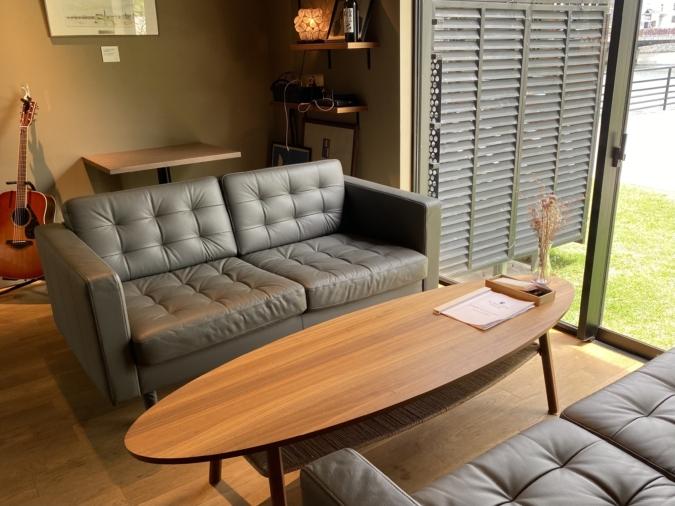 オ・ボルドー・フクオカのソファー席