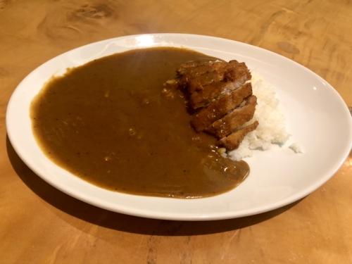 カレー&カフェ大阪マドラスのマドラスカレー・とんかつトッピング