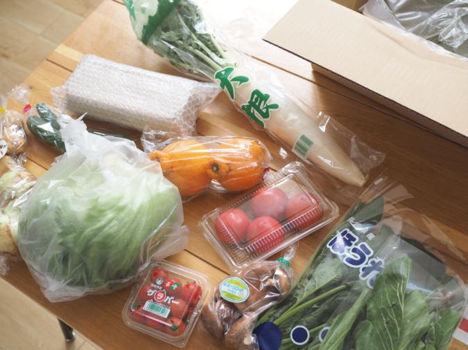 『ふるさと納税定期便』の野菜