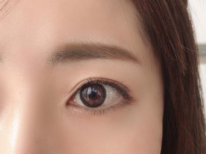 眉は部分的にプラスするのがポイント