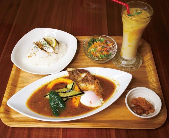 華カリーgingerの真鯛スープカレー