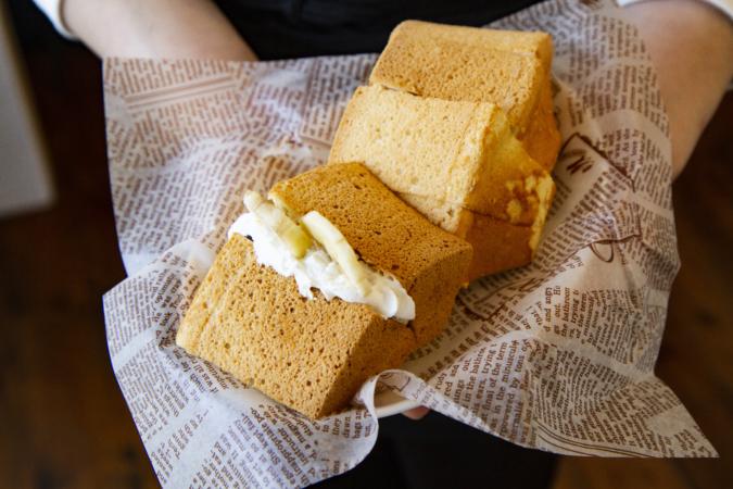on the Toast(オンザトースト)シフォンケーキ
