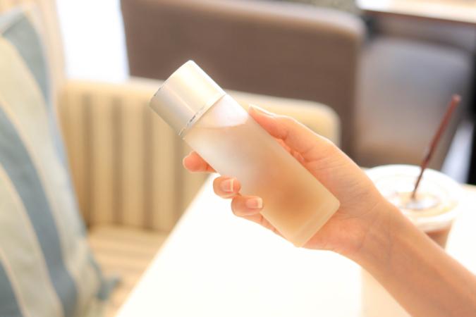化粧水の重ねづけ