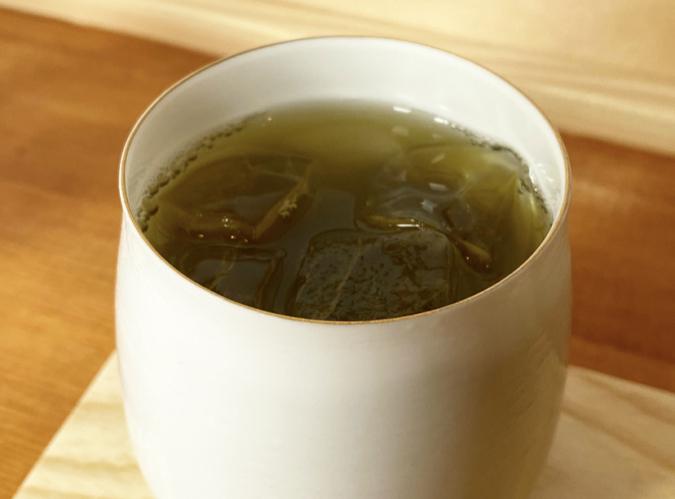NINI「浅煎りほうじ茶」のエスプレッソ抽出