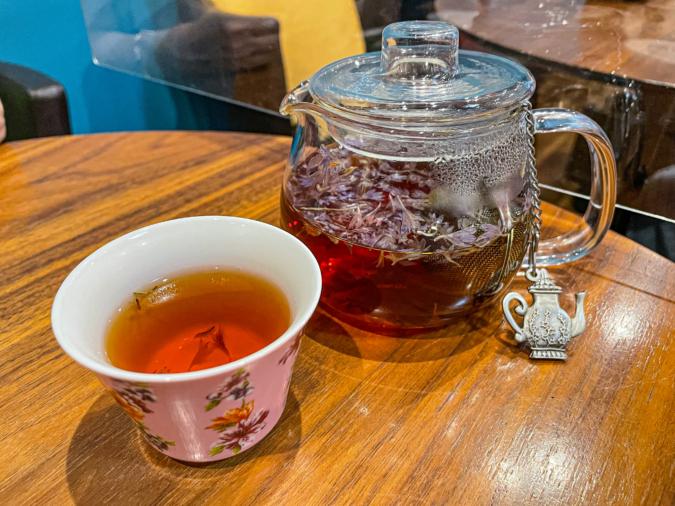 「CHINA CAFE」ライチ紅茶
