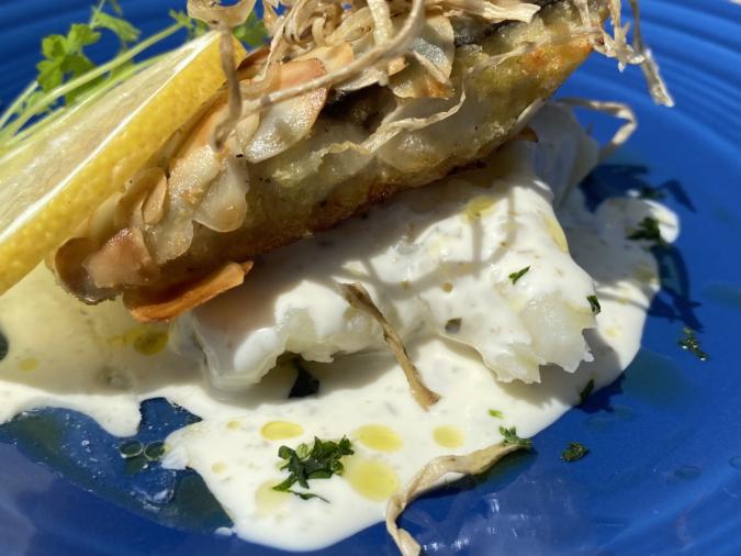 Bistro&cafe TIME(ビストロアンドカフェ タイム)ランチの魚メイン