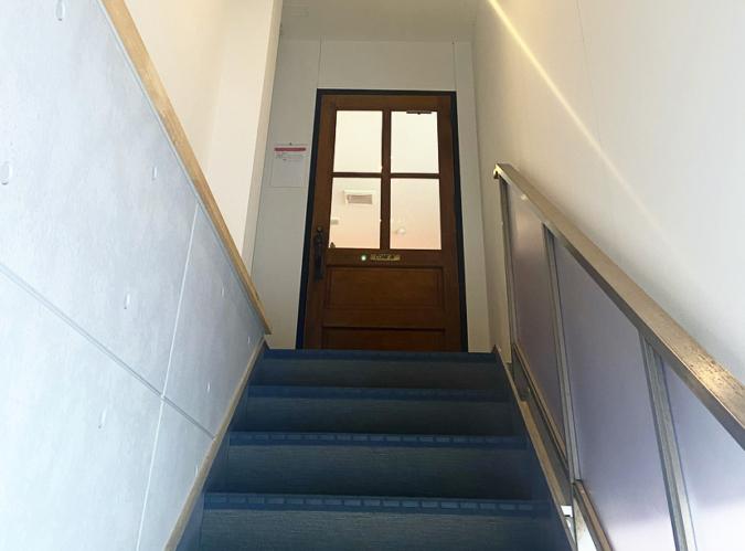 PUBLIC THEATER(パブリックシアター)階段