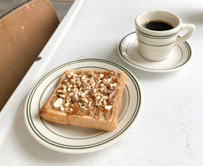 PUBLIC THEATER(パブリックシアター)クラシックナッツバタートースト