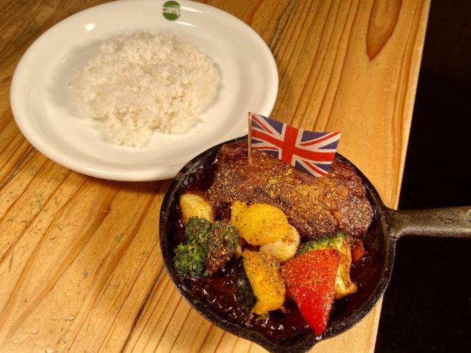 「野菜を食べるカレー camp」BBQカレー