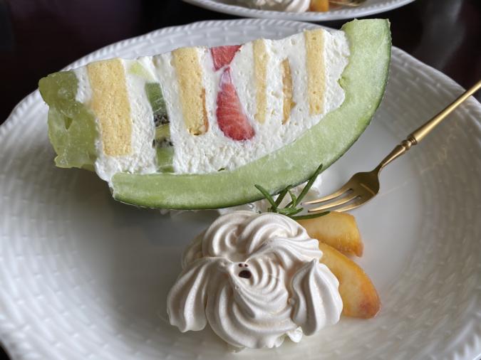 「蘭和(らんか)」まるっとメロンケーキ