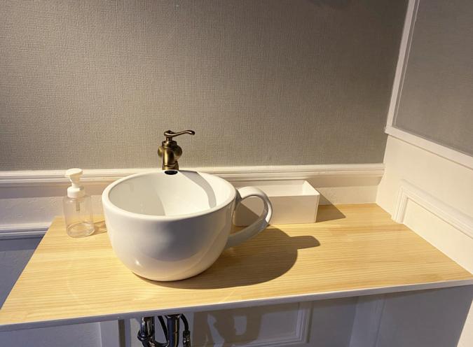GALVA(ガルバ)洗面台