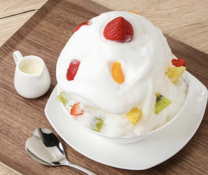 GALVA(ガルバ)かき氷「極ミルク」