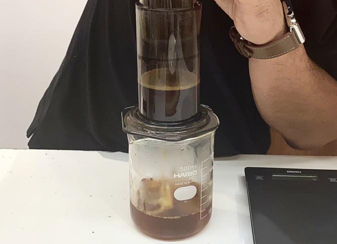 「Modoo's Coffee Brewers(モドゥコーヒーブリュワーズ)」エアロプレス