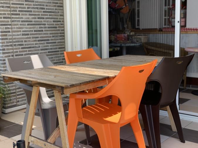 Patisserie&cafe Anju(パティスリー&カフェ アンジュ)庭