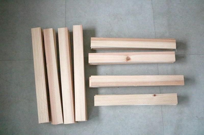 折りたたみテーブルの材料