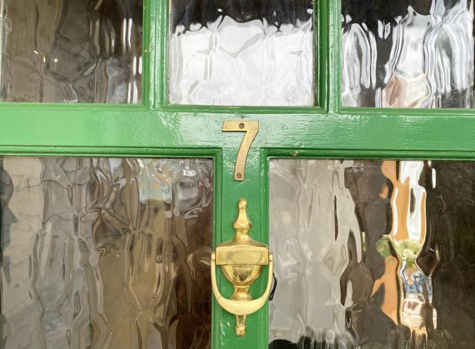 「7GO室」ドア