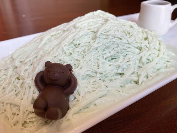 「KOGUMA CAFE.(コグマカフェ)」チョコミント糸ピンス