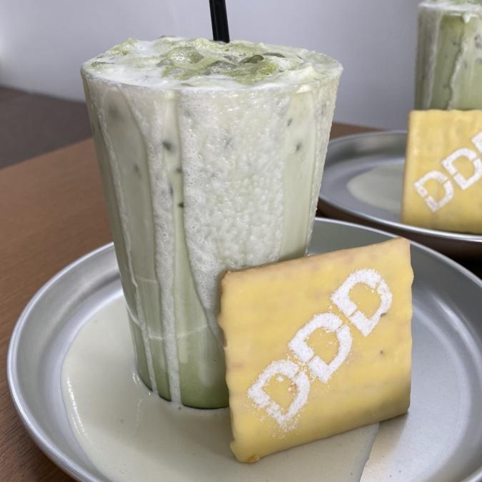 DDD(ディーディーディー)抹茶ラテ