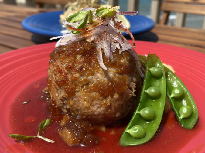 Bistro&cafe TIME(ビストロアンドカフェ タイム)ランチのお肉メイン