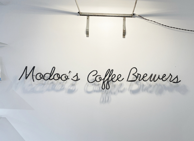 「Modoo's Coffee Brewers(モドゥコーヒーブリュワーズ)」ロゴ