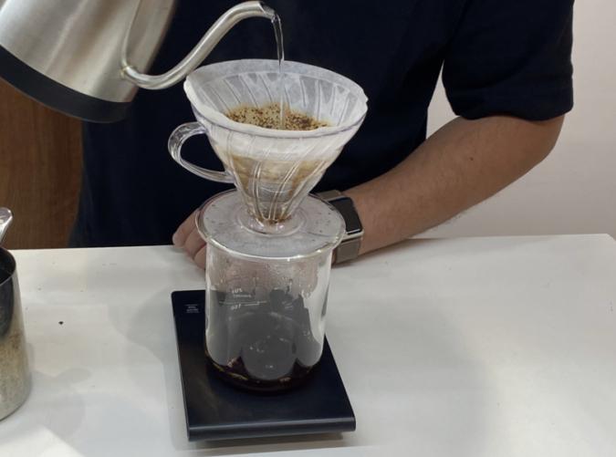 「Modoo's Coffee Brewers(モドゥコーヒーブリュワーズ)」プアオーバー