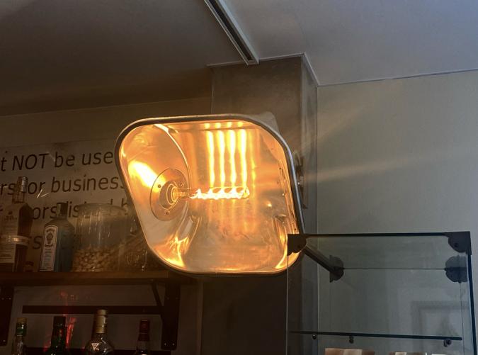 PUBLIC THEATER(パブリックシアター)カウンターの照明
