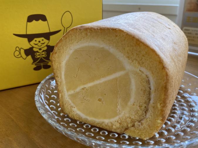 「ぷりんのススメ」ぷりんロールケーキ