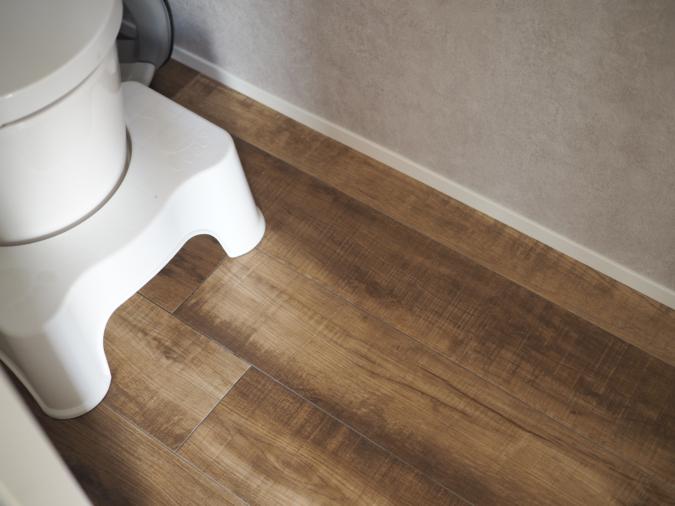 トイレ掃除は毎日朝に1回掃除シートで全体を拭いて終わり!