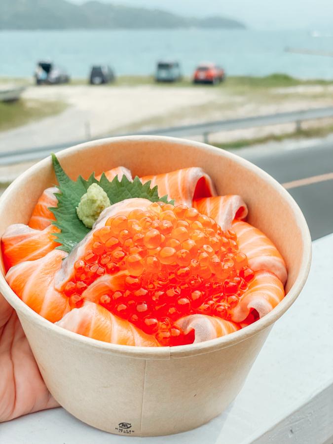 「糸島食堂」海鮮丼