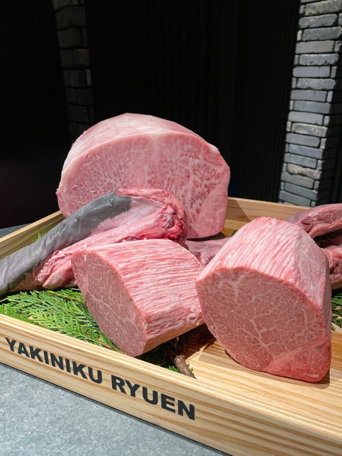 『焼肉の龍園 小倉本店』高級ブランド牛