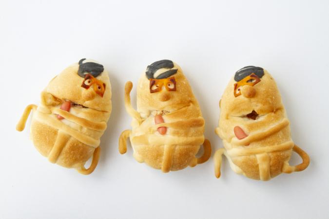 ぺったんのパン「おいさ!おいさ!おいさ!」