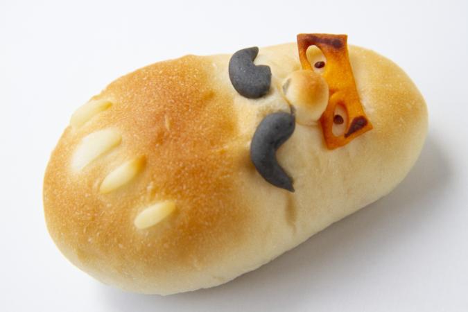 ぺったんのパン「だるま」