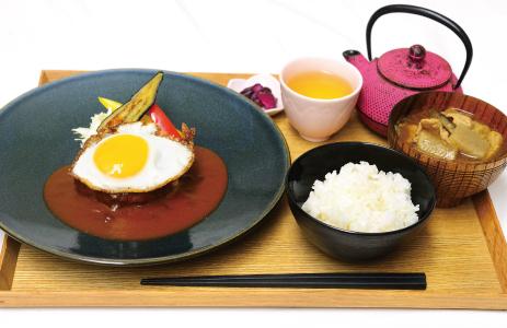 chano-ma(ちゃのま)ハンバーグプレート
