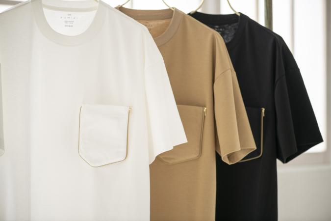「KUMIKI」エコバッグTシャツ