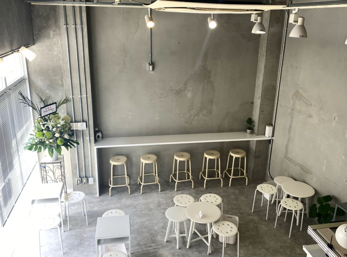 『Dopey Dopey cafe & afternoon tea』店内