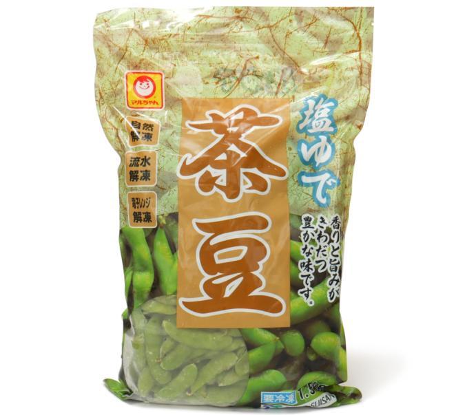 マルちゃん 塩ゆで茶豆
