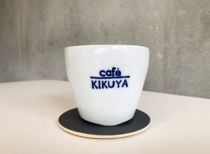 「TRATTORIA KIKUYA」コーヒー