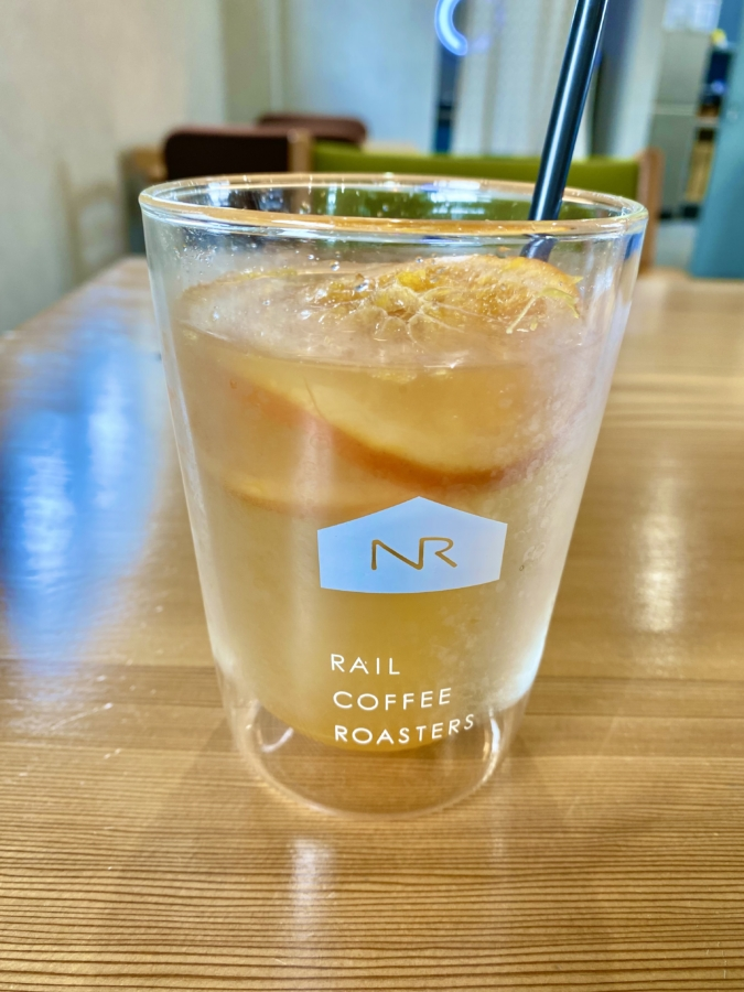 『RAIL COFFEE ROASTERS(レールコーヒーロースターズ)」ブラッドオレンジソーダ