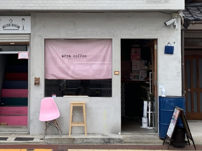 『area coffee』外観