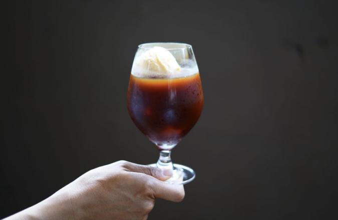 パタゴニアの南 コーヒーフロート