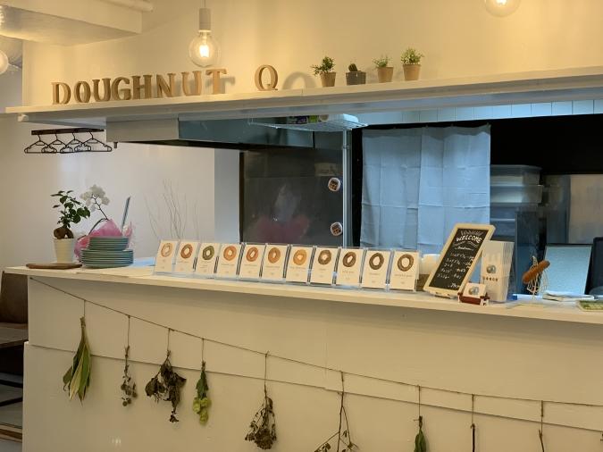 『Doughnuts Q(ドーナツキュー)』店内