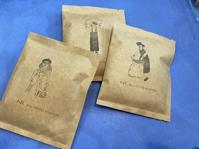 『RAIL COFFEE ROASTERS(レールコーヒーロースターズ)」ドリップバッグ