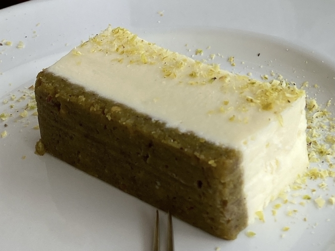 siro coffee(シロコーヒー)ホワイトチョコピスタチオチーズケーキ