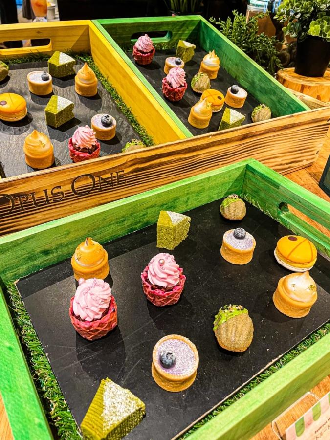 デザートブュッフェ〜フレンチスイーツマーケット〜 一口サイズのケーキ
