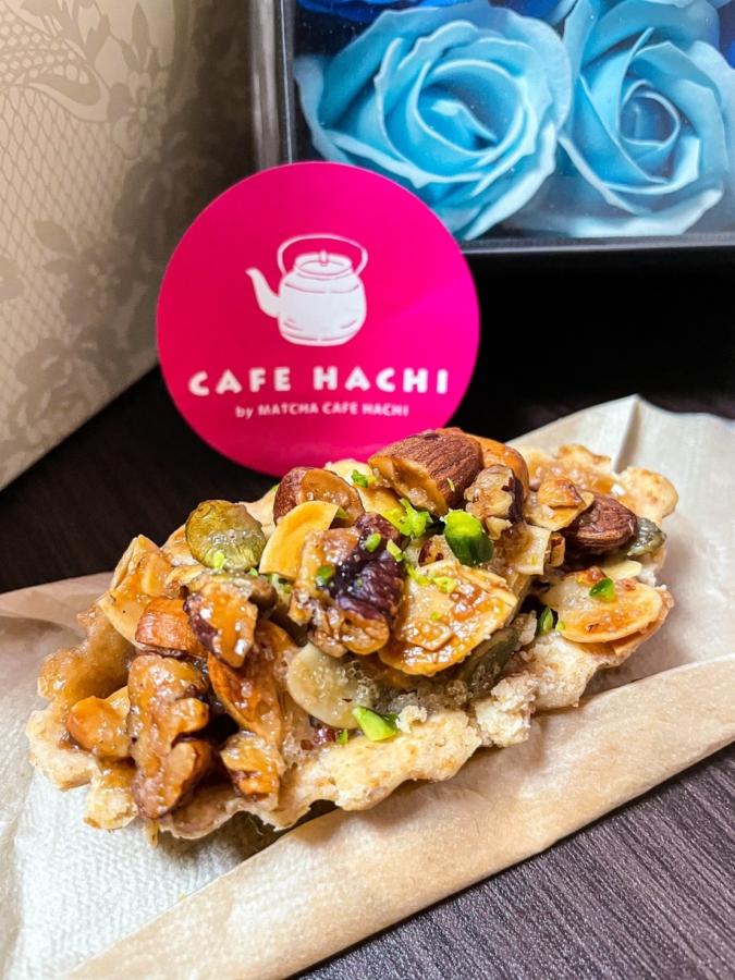 CAFE HACHI「5種のナッツタルト」