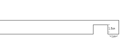 ランドリーラックの作り方 参考図