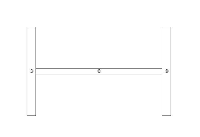 ランドリーラックの作り方