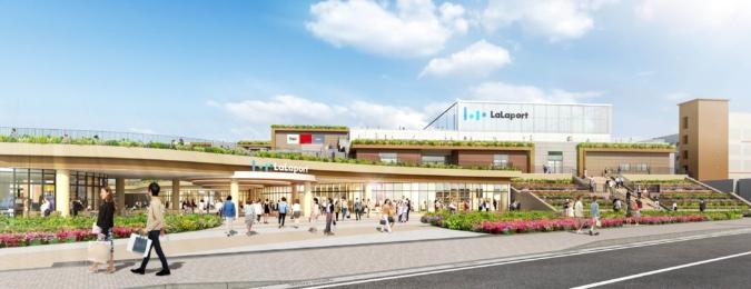 三井ショッピングパーク ららぽーと 外観イメージ